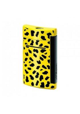 accendino dupont minijet leopard