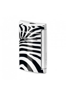 accendino dupont minijet zebre