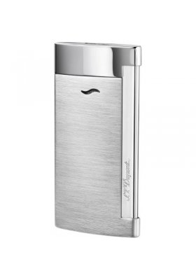 accendino dupont slim 7 brushed chrome