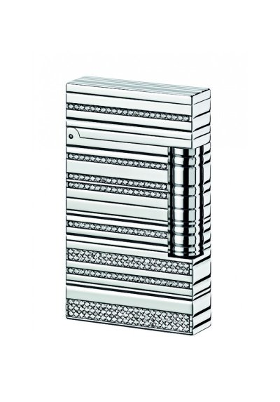 Accendino Dupont sparkling argento
